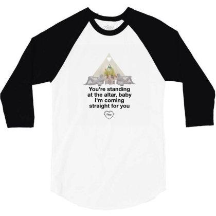 Poppy - Altar 3/4 Sleeve Shirt Designed By Mikevidalart
