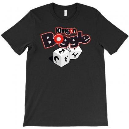Klingon Boggle T-shirt Designed By Mdk Art