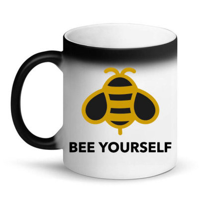 Bee Yourself Magic Mug Designed By Jasmine Tees