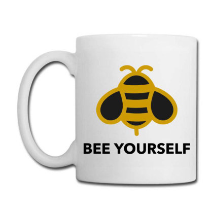Bee Yourself Coffee Mug Designed By Jasmine Tees