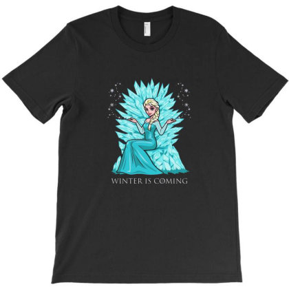 Winter Is Coming T-shirt Designed By Rogerns