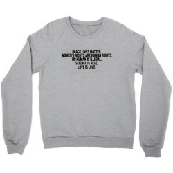 love is love Crewneck Sweatshirt | Artistshot