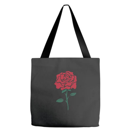Red Rose Tote Bags Designed By Fahmifutri