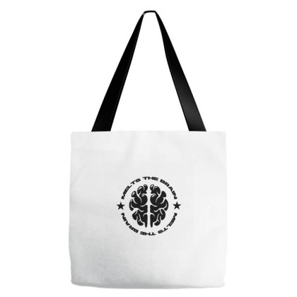 Melts The Brains - Black Tote Bags Designed By Wahidin77