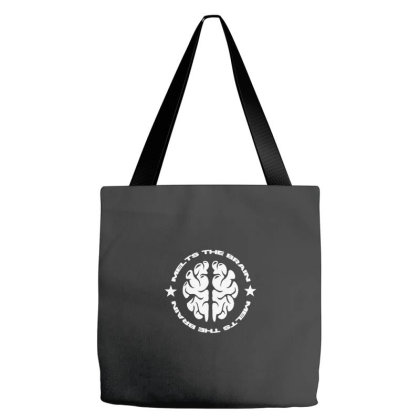 Melts The Brains Tote Bags Designed By Wahidin77