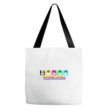 Old School Is Cool Tote Bags Designed By Wahidin77