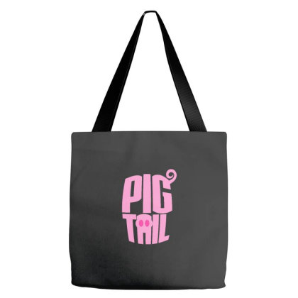 Pig Tails Tote Bags Designed By Wahidin77