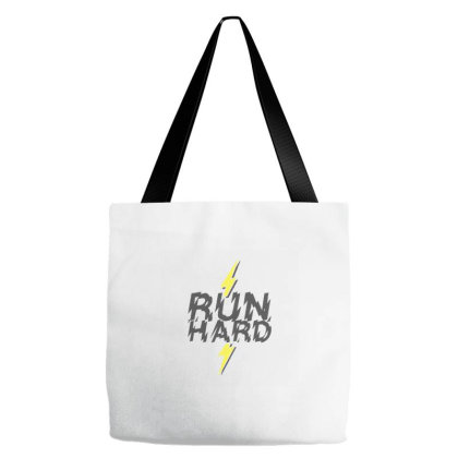 Run Hard Tote Bags Designed By Wahidin77
