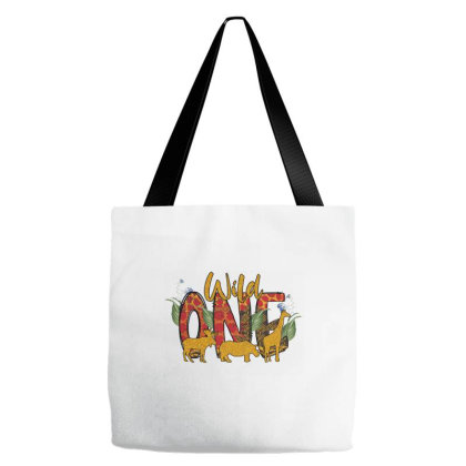 Wild One Tote Bags Designed By Badaudesign
