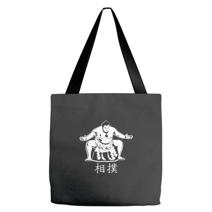 Sumo Fighter Tote Bags Designed By Wahidin77
