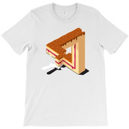 Layer Cake T-shirt Designed By Mdk Art