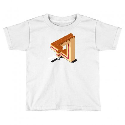 Layer Cake Toddler T-shirt Designed By Mdk Art