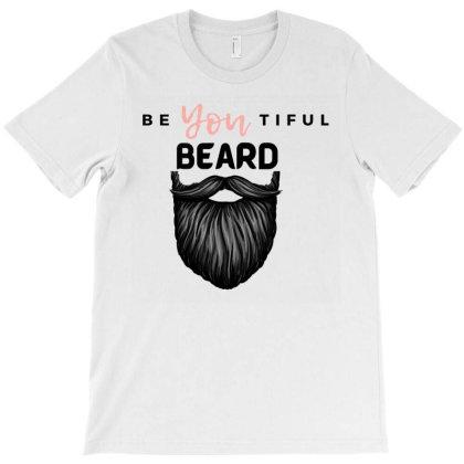 Beyoutiful Beard T-shirt Designed By Beard Bros
