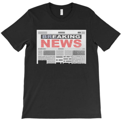 Faking News T-shirt Designed By Gudalbosok