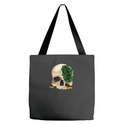 St Patrick's  Skeleton Tote Bags Designed By Bettercallsaul