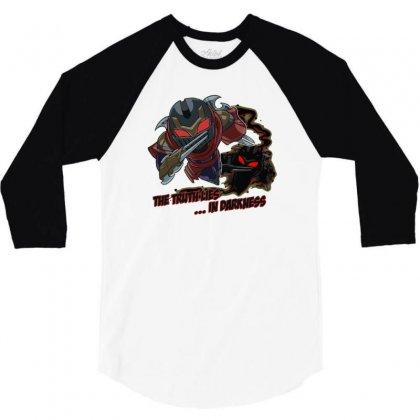 League Of Legends   Zed 3/4 Sleeve Shirt Designed By Mdk Art