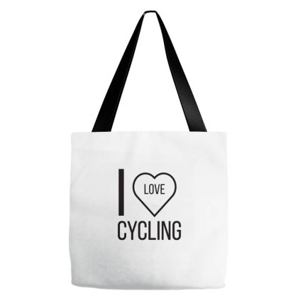 I Love Cycling Tote Bags Designed By Artmaker79
