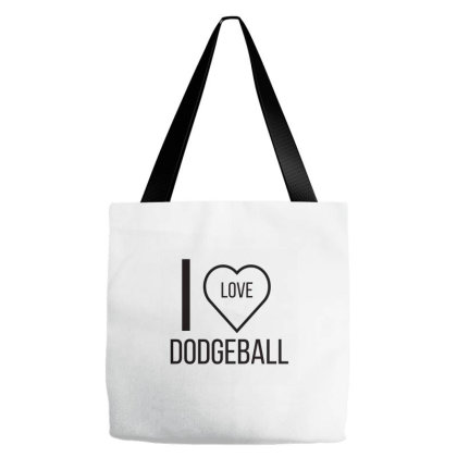 I Love Dodgeball Tote Bags Designed By Artmaker79