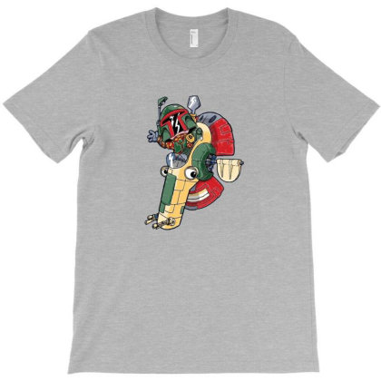 Boba The Hunter T-shirt Designed By Paulsn