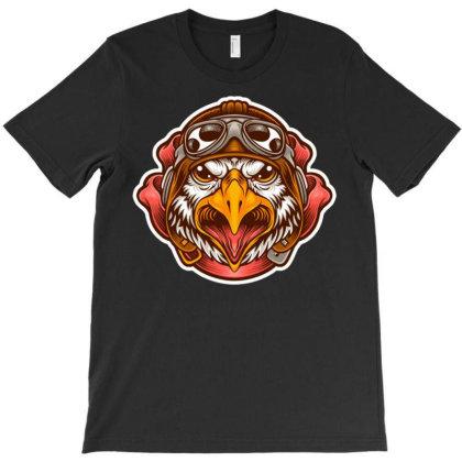 Pilot Eagle T-shirt Designed By Maadart