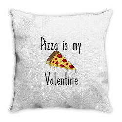 Pizza Is My Valentine Throw Pillow Designed By Angelveronica