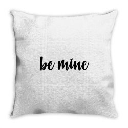 Valentines Be Mine Throw Pillow Designed By Robertoabney