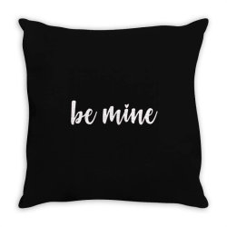Valentines Day Be Mine Throw Pillow Designed By Robertoabney