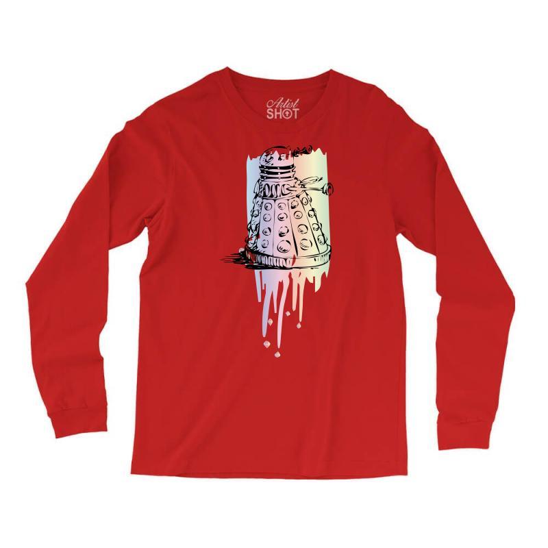 Color Dalek Long Sleeve Shirts | Artistshot