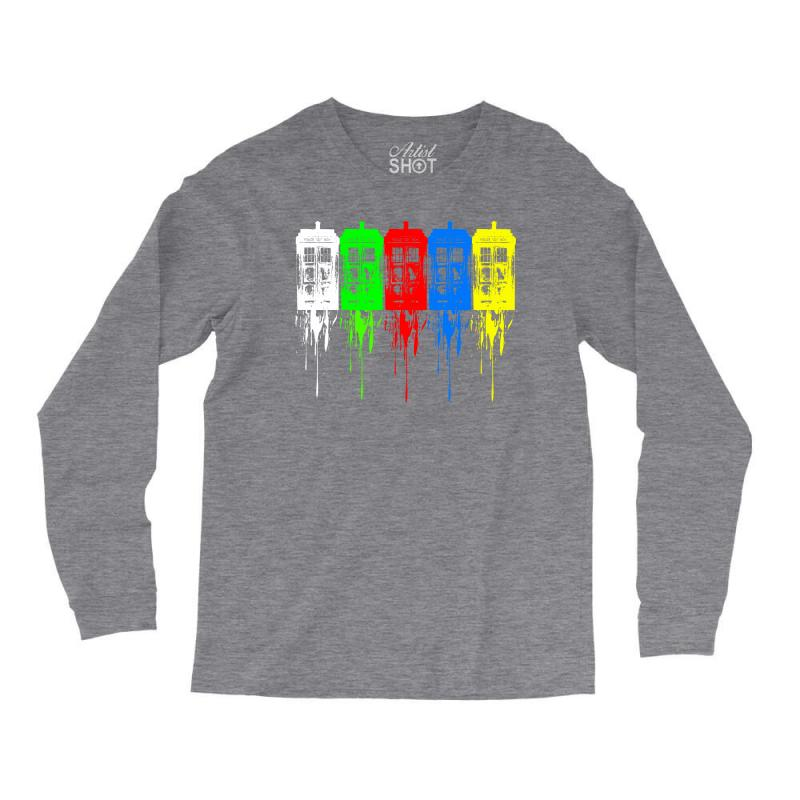 Tardis Dr Who Long Sleeve Shirts   Artistshot