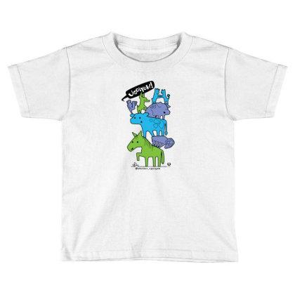 Shelter Ugolyok Benefit Toddler T-shirt Designed By Hemblem
