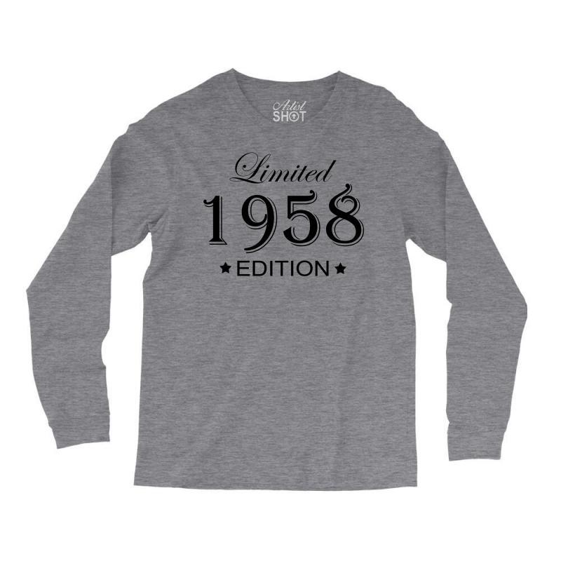 Limited Edition 1958 Long Sleeve Shirts | Artistshot