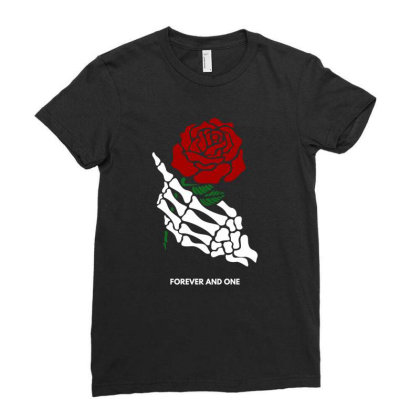 Forever And One Ladies Fitted T-shirt Designed By Fahmifutri