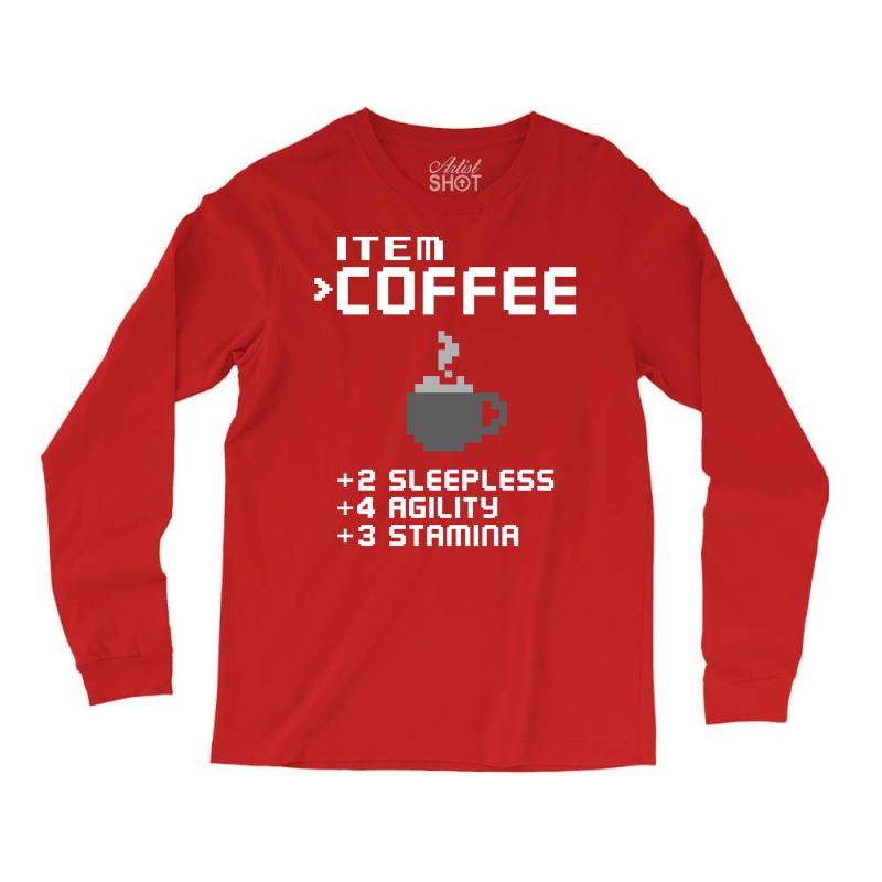 Facts Of Coffee Long Sleeve Shirts | Artistshot