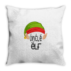 Uncle Elf Christmas Gift Throw Pillow Designed By Loarrainenielsen