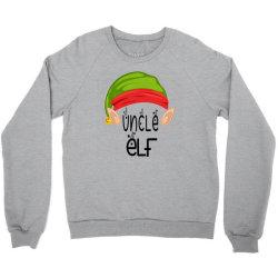 Uncle Elf Christmas Gift Crewneck Sweatshirt Designed By Loarrainenielsen