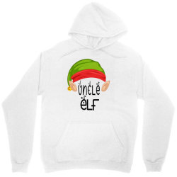 Uncle Elf Christmas Gift Unisex Hoodie Designed By Loarrainenielsen