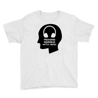 Providing Memories With Music Youth Tee Designed By Ismi