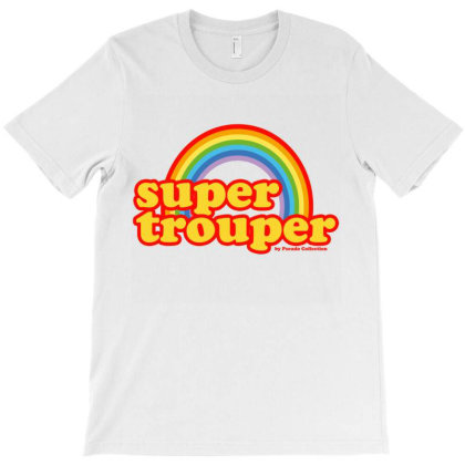Supertrouper 70s Rainbow By Pseudo T-shirt Designed By Pseudocollection