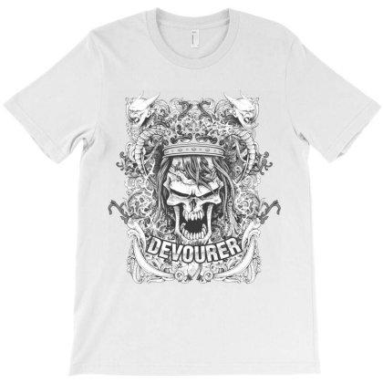 Devourer Skull T-shirt Designed By Estore
