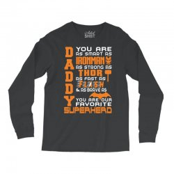 DADDY - Fathers Day - Gift for Dad _(SO) Long Sleeve Shirts | Artistshot