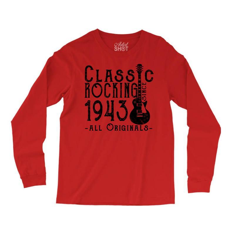 Rocking Since 1943 Long Sleeve Shirts | Artistshot