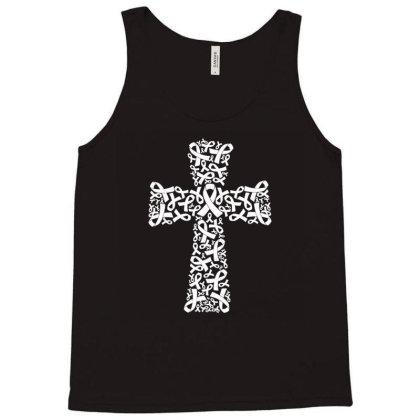 Christian Cross Jesus Osteoporosis Awareness Tank Top Designed By Toldo