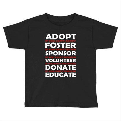 Animal Rescue Vintage Toddler T-shirt Designed By 4905 Designer