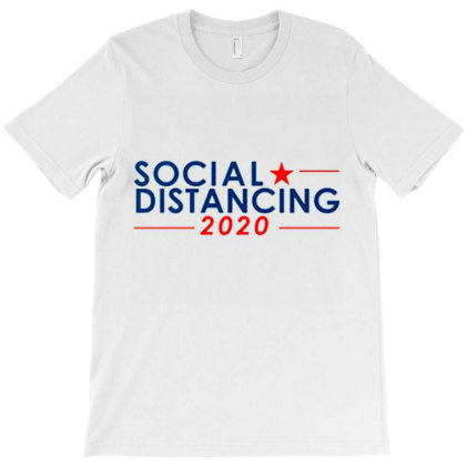 Social Distancing T-shirt Designed By Goesclaudy