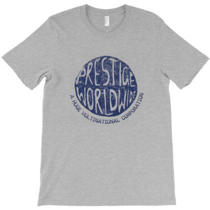 Prestige Worldwide T-shirt Designed By Gueftash