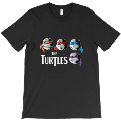 The Turtles T-shirt Designed By Gueftash