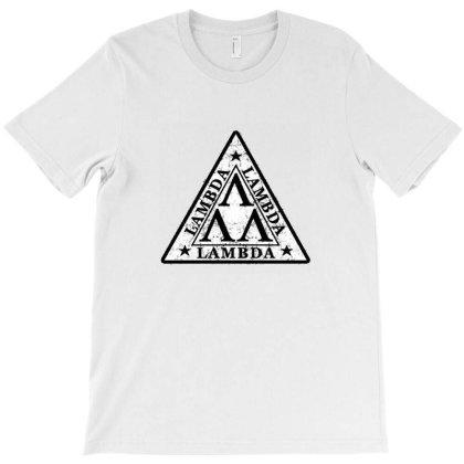 Tri Lambda T-shirt Designed By Gueftash