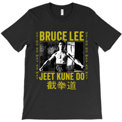 Bruce Lee Jeet Kune Do T-shirt Designed By 4905 Designer