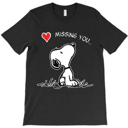 Cartoon Missing You T-shirt Designed By 4905 Designer