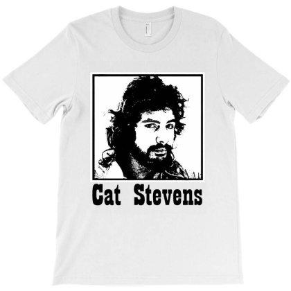 Cat Stevens T-shirt Designed By 4905 Designer